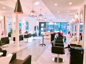 La Rouge Hair Salon lobby