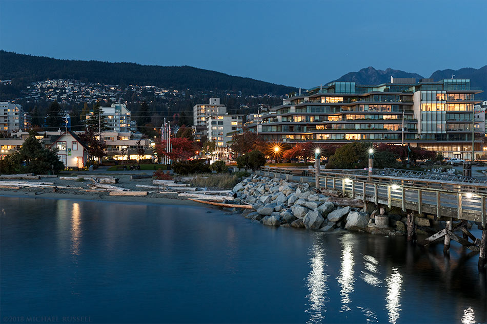 West Vancouver and Ambleside Pier