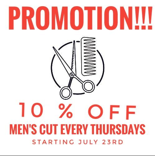 2020 Men's Cut Promotion