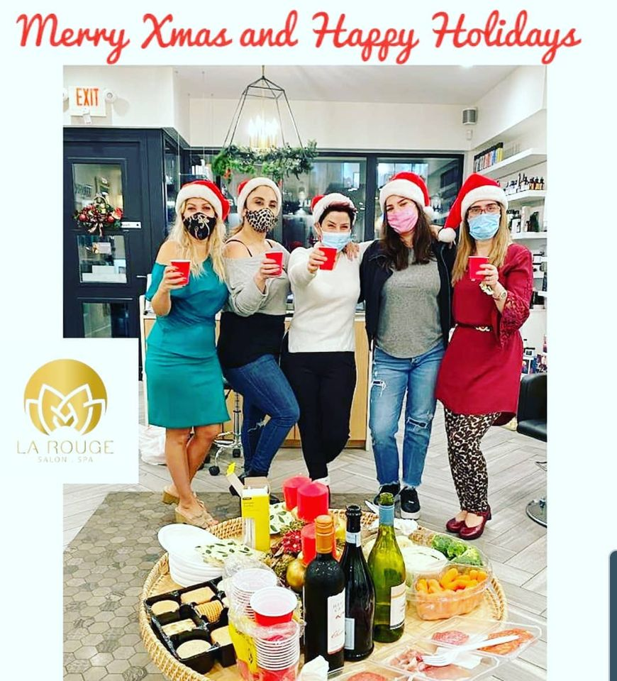 La Rouge Hair and Spa Happy Holidays